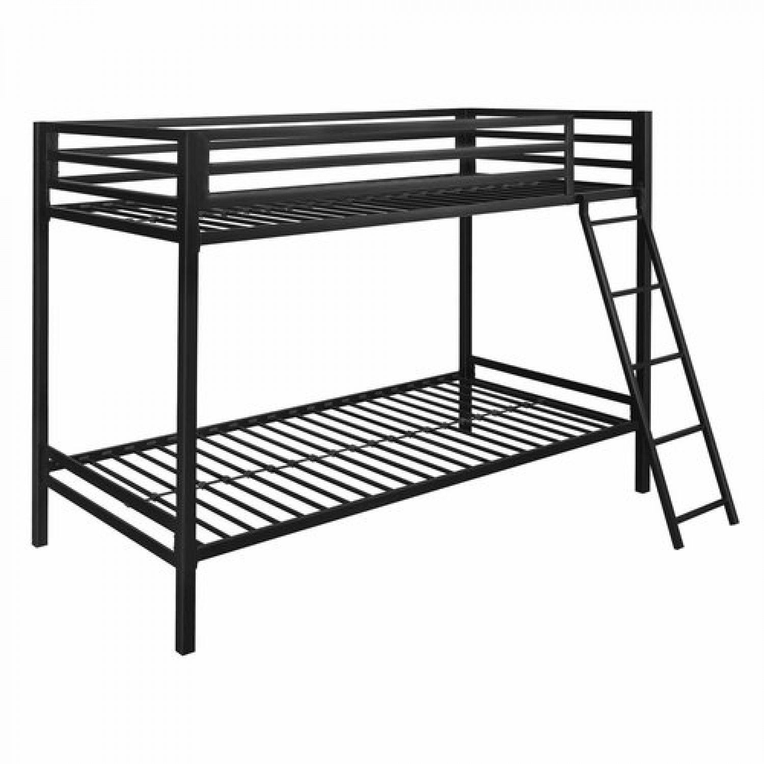 1500x1500 Twin Over Full Bunk Beds Kids Girls Boys Guest Bedroom Furniture