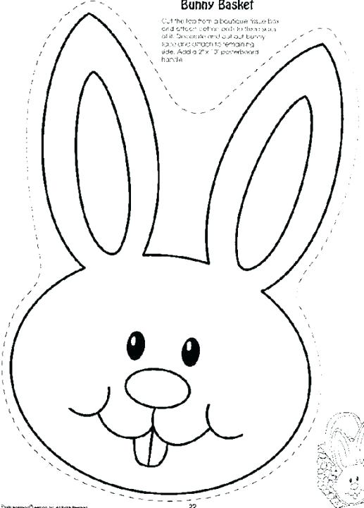 517x720 Coloring Pages Of Ears Bunny Ears Coloring Pages 7 Coloring Pages