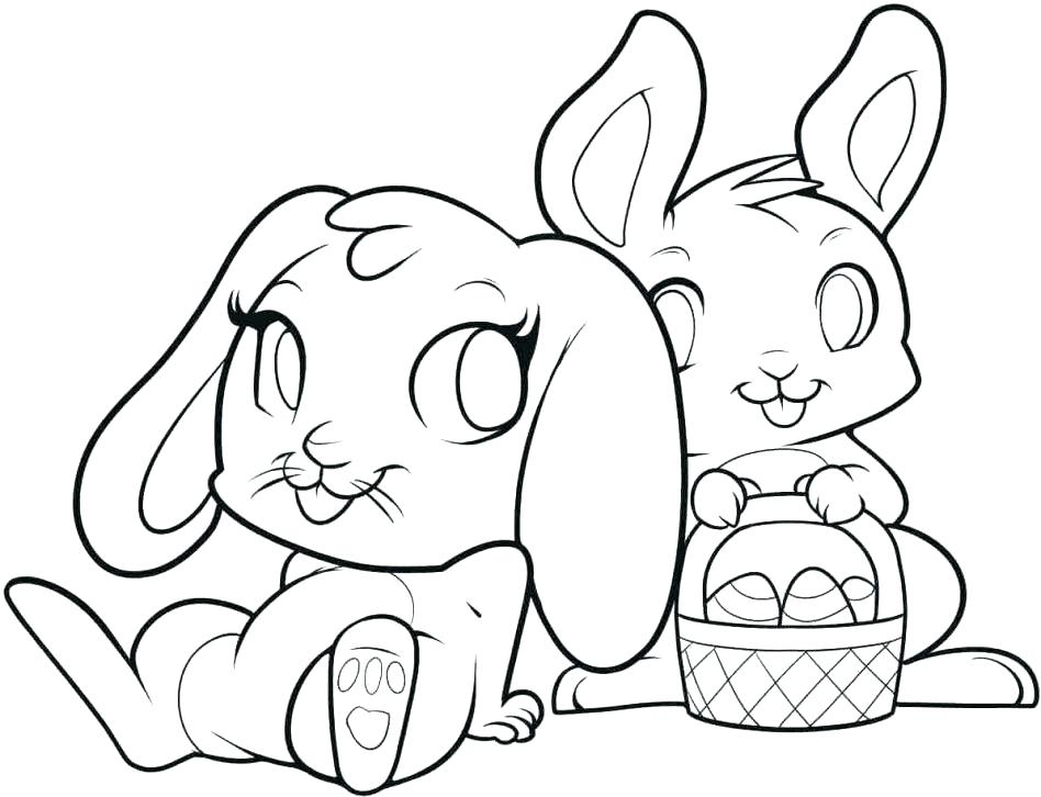 948x726 Rabbit Coloring Pages Free Printable For Rabbit Coloring Pages