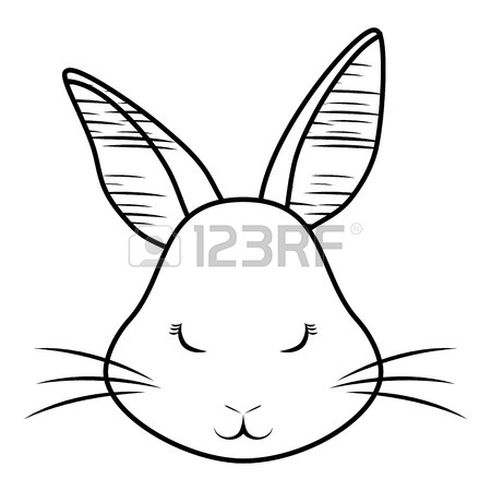 450x450 Easter Bunny Face Vector Stock Photos. Royalty Free Easter Bunny