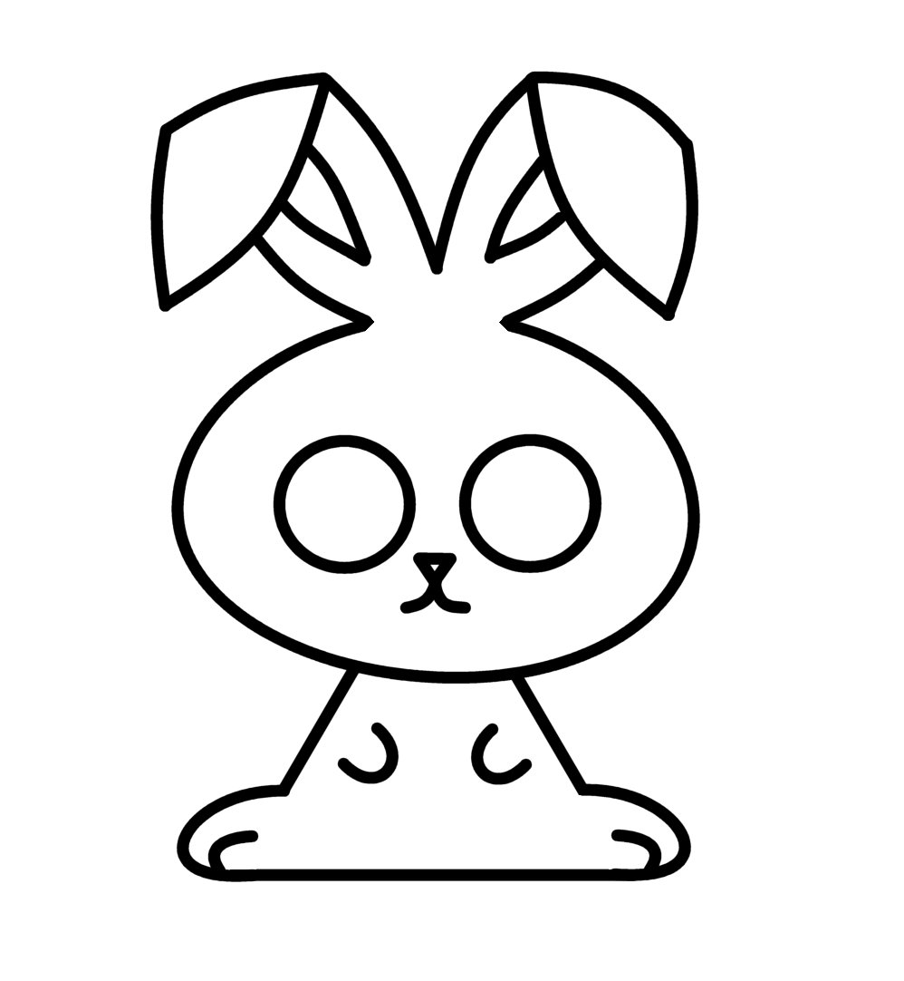 998x1082 How To Draw Cartoons Easter Bunny
