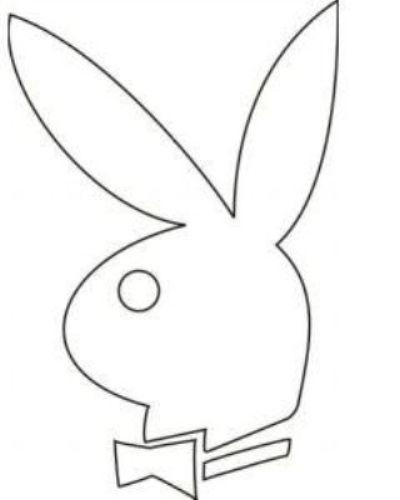 400x500 Playboy Bunny Head Template Play Boy Playboy Bunny