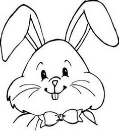 236x267 Drawn Bunny Face
