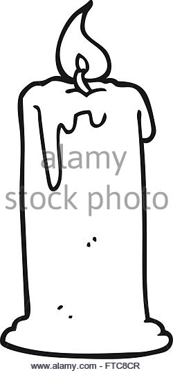250x540 Freehand Drawn Cartoon Burning Candle Stock Photos Amp Freehand