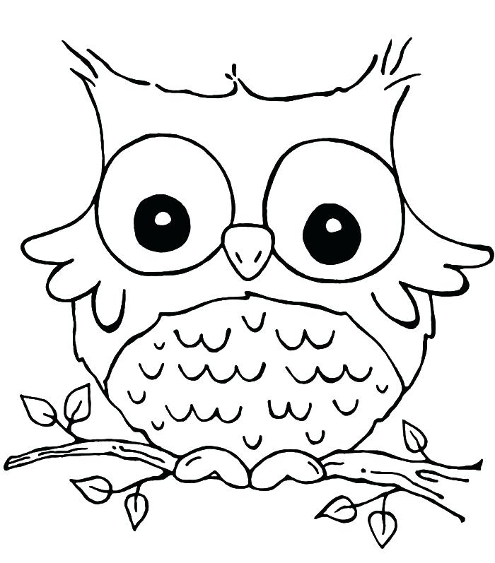 700x797 Printable Owl Coloring Pages