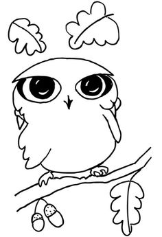 236x345 Owl coloring pages If Anyone Like To Save The Animal Owl