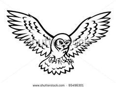 236x178 Snowy Owl Tattoo