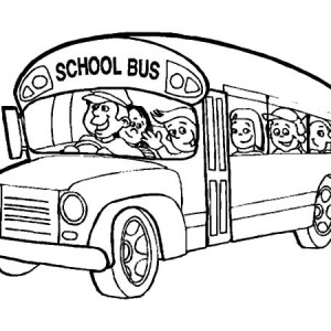 300x300 Happy Bus Driver Coloring Pages Best Place To Color