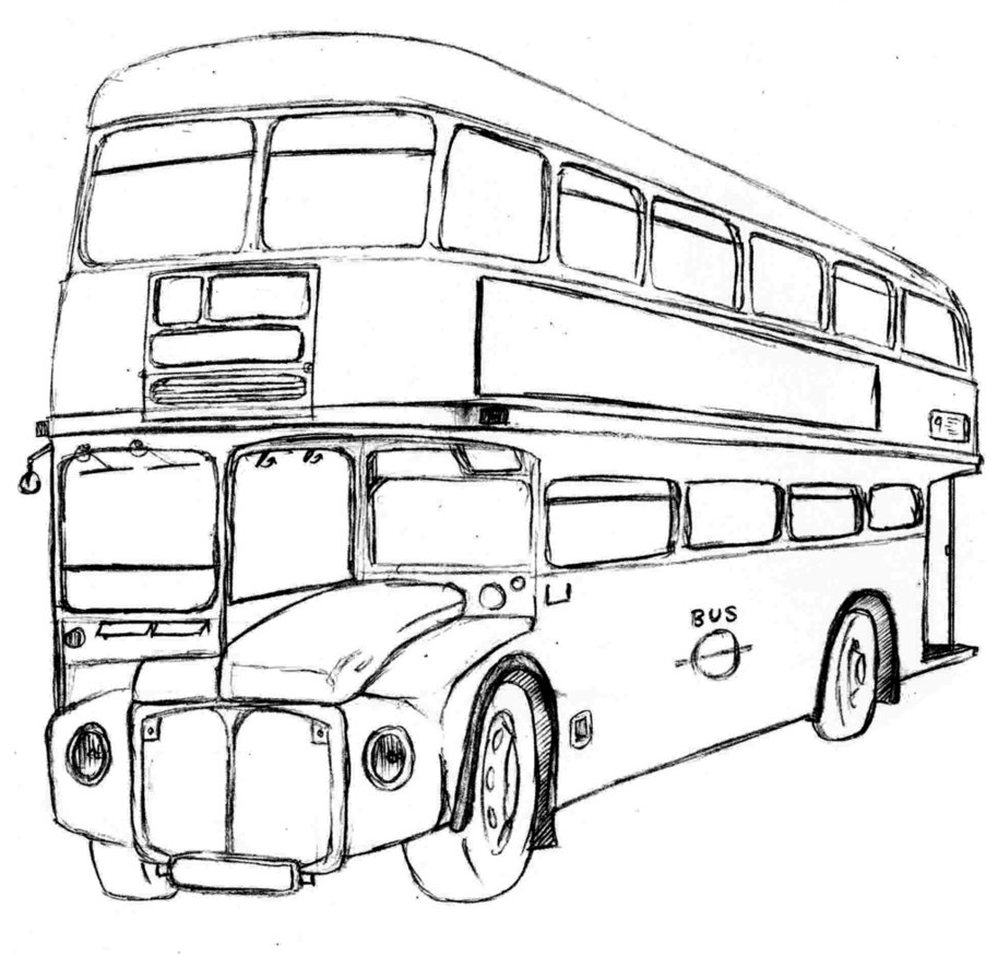 914x874 Routemaster Bus By Michael Brown