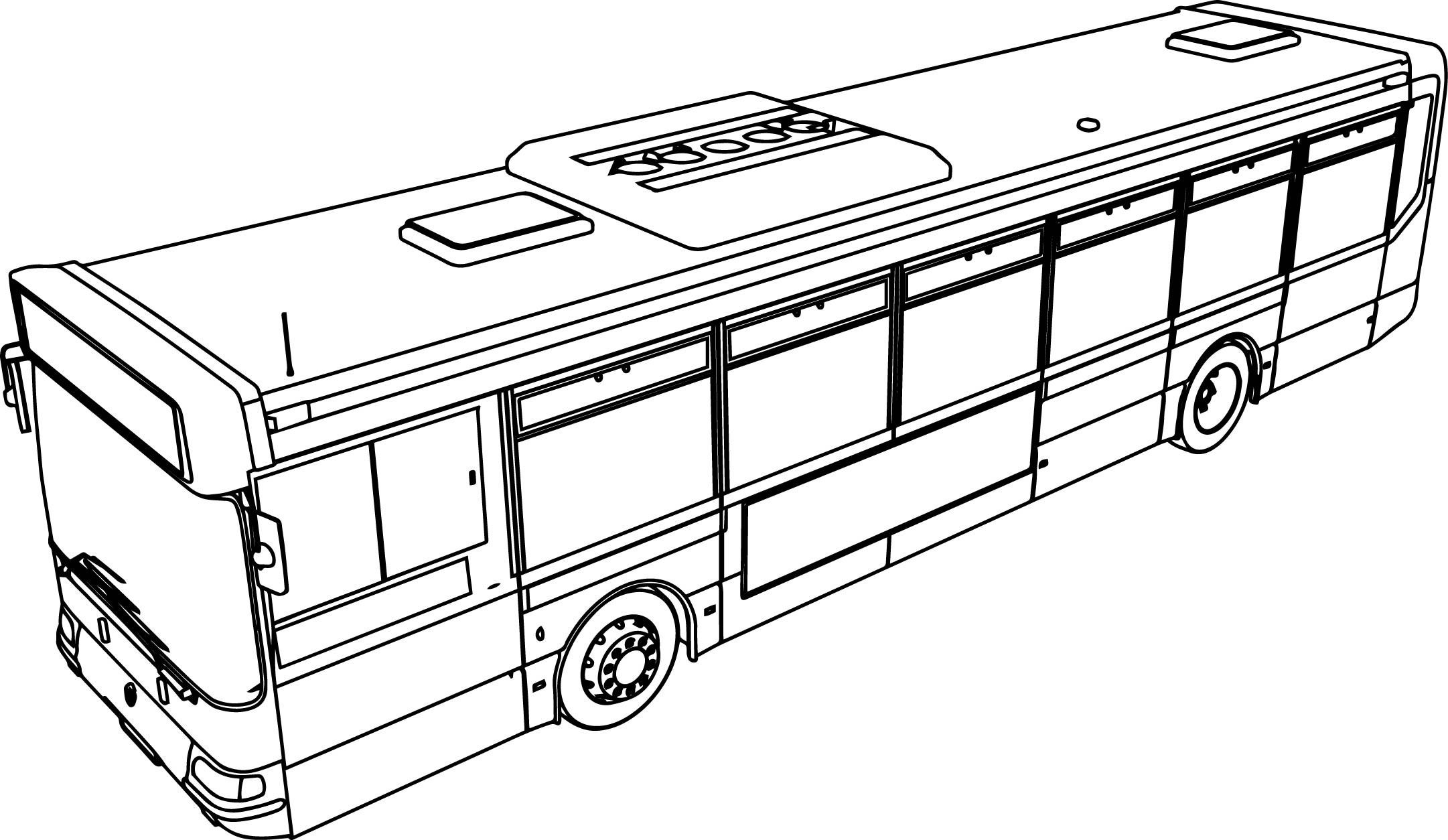 coloring pages bus - photo#30