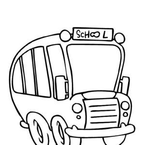 300x300 School Bus Driver Coloring Page Clipart Panda
