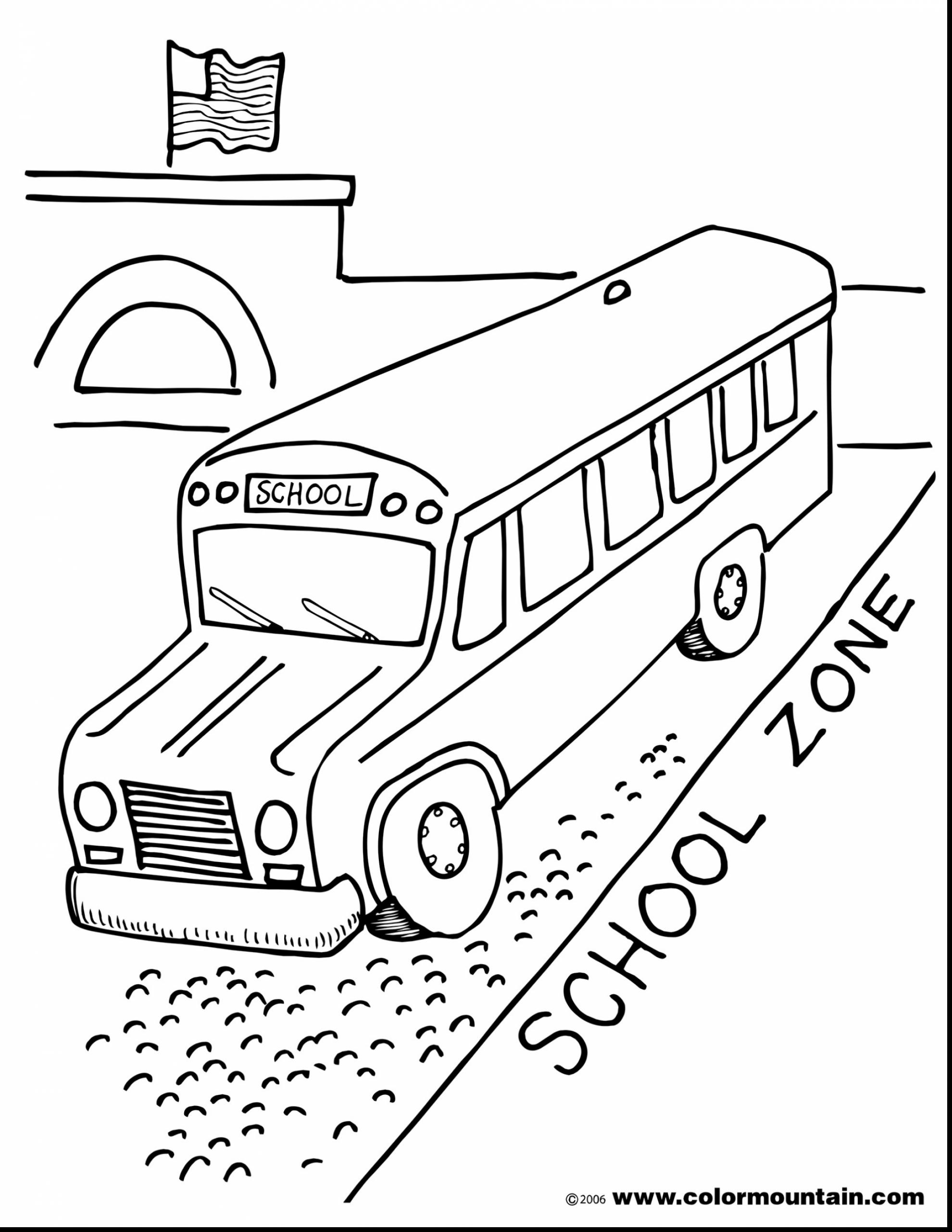 1980x2561 Magnificent Bus Driver Coloring Pages With School Bus Coloring