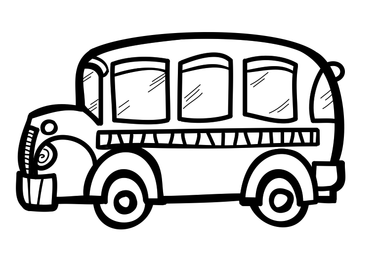 767x515 The Creative Chalkboard Free School Bus Clipart And Kids Bundle
