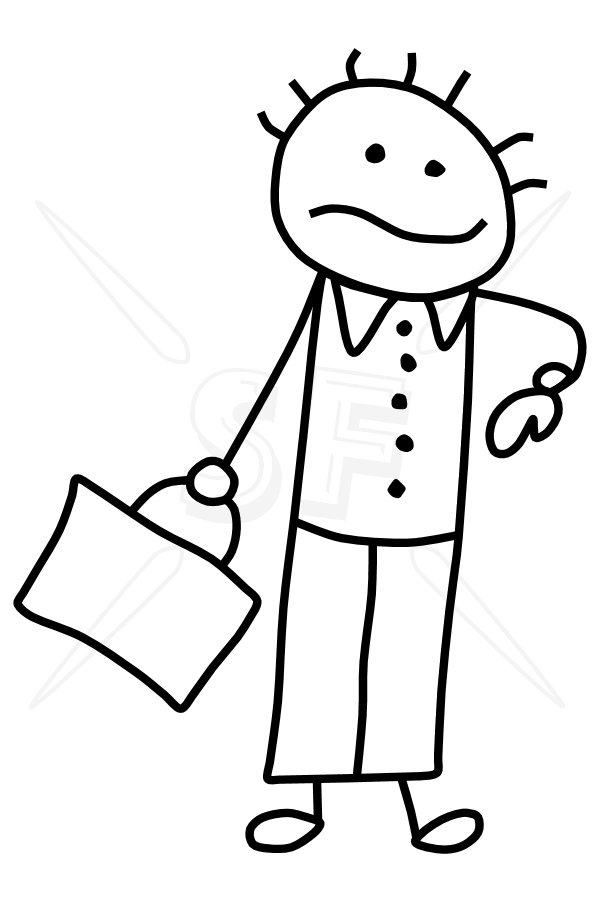 600x900 Business Man The Phlebotomist Business, Stick