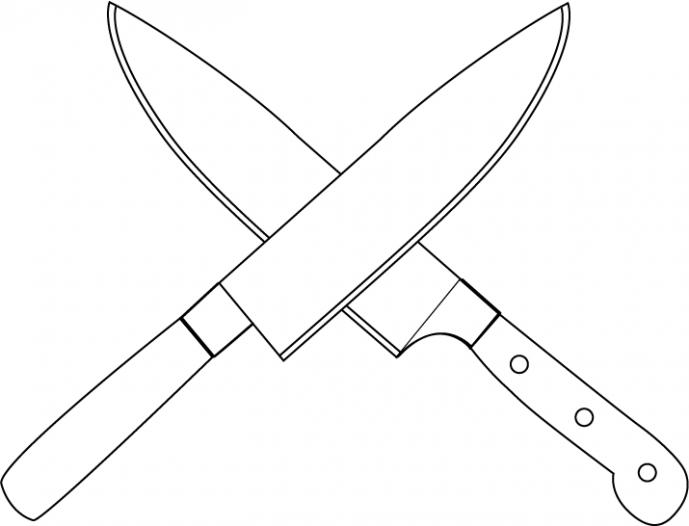 689x526 Kitchen Kitchen Knife Drawing Kitchen Knife Drawer Insert