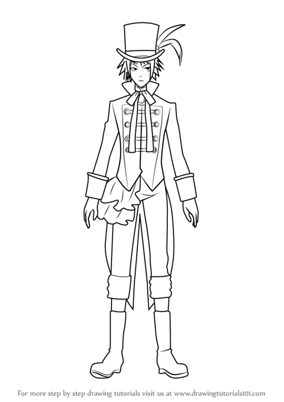 565x800 Learn How To Draw Drossel Cainz From Black Butler (Black Butler