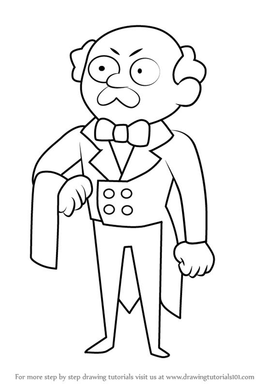 566x800 Learn How To Draw Li'L Butler From Steven Universe (Steven