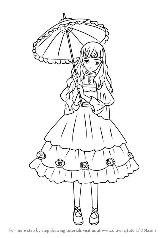 565x800 Learn How To Draw Queen Victoria From Black Butler (Black Butler