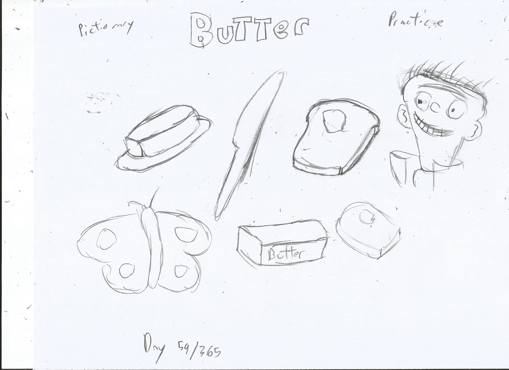 Butter Drawing