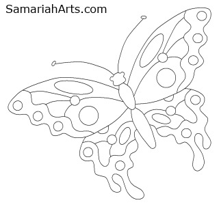 320x303 A World Of Butterfly Art! How To Draw And Create With Four