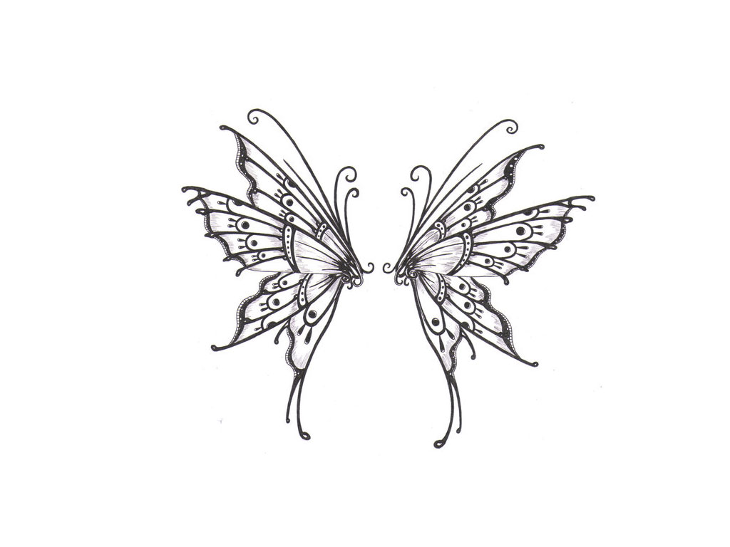 1024x768 Wings Of Butterfly Wallpaper Tattoo Tattoo, Tatoo