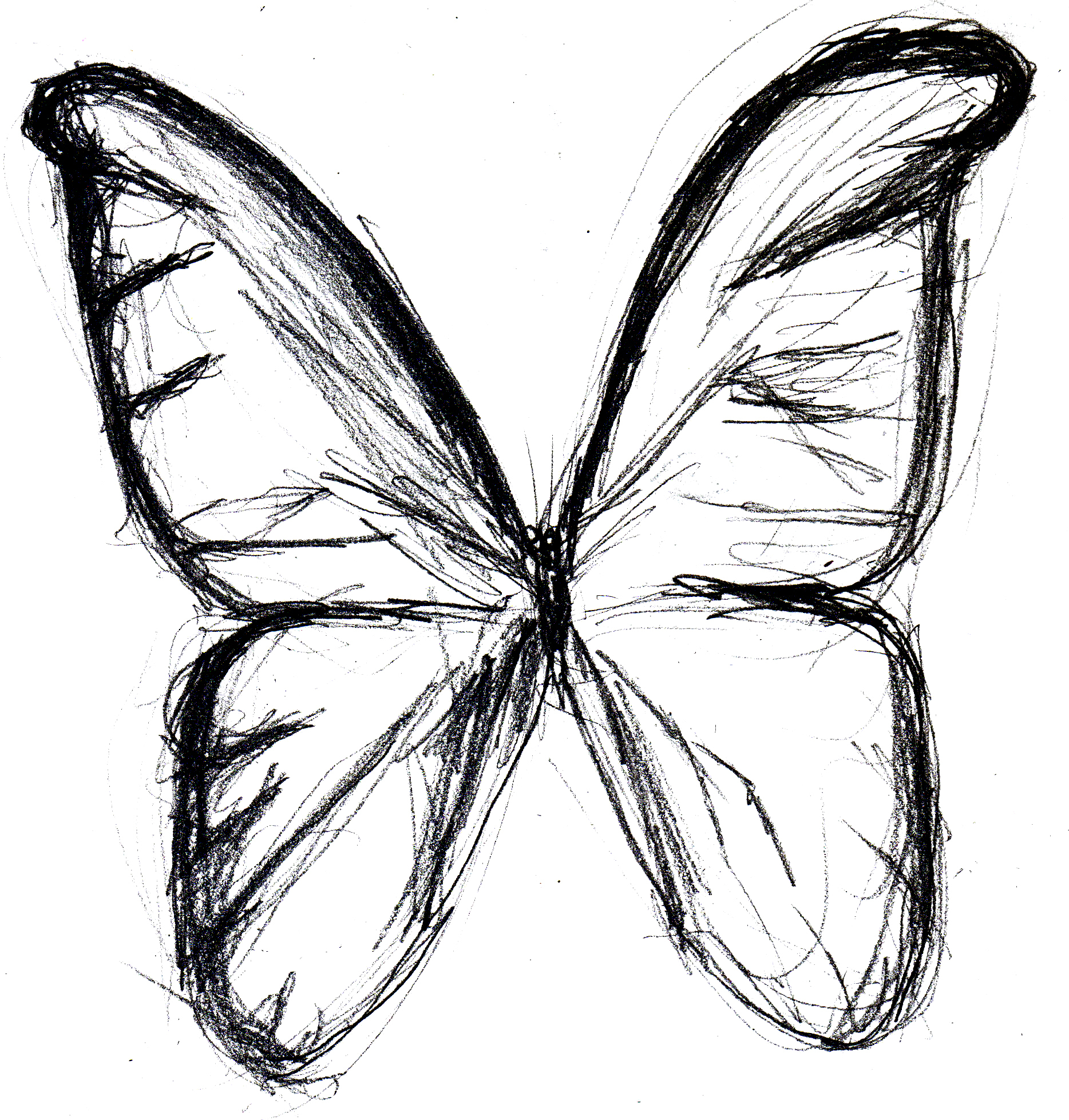 1868x1957 Sketch Of Butterfly Butterfly Hd Sketch Drawing Butterfly Hd