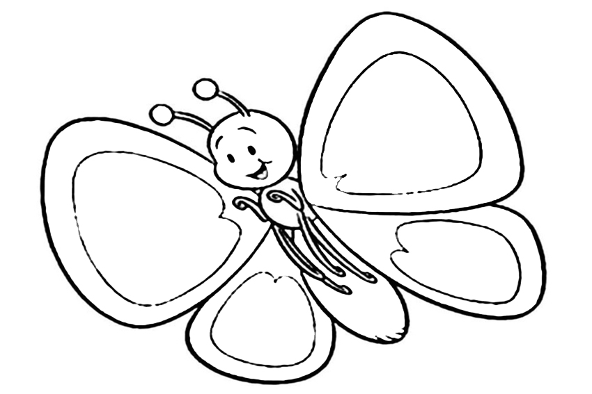 850x567 list of beautiful caterpillar and butterfly coloring pages
