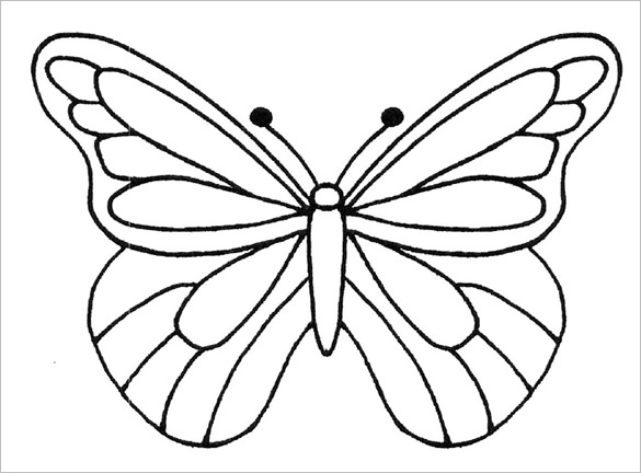Butterfly Drawing Designs at GetDrawings.com
