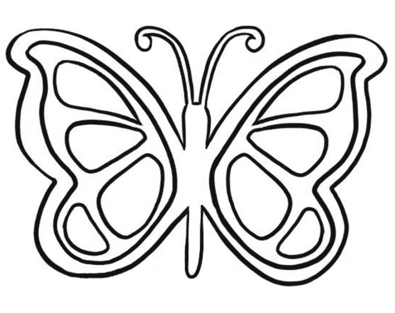 Butterfly Drawing For Kids at GetDrawings | Free download