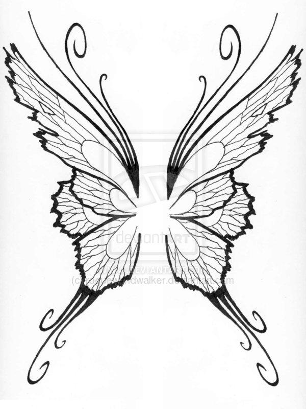 600x800 Corner Tattoos Fairy Wings Tattoo Designs Ideas