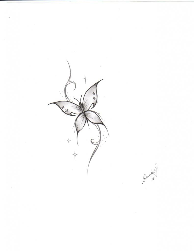 791x1024 Small Butterfly Tattoo Ideas Small Butterfly Tattoo Design Fresh