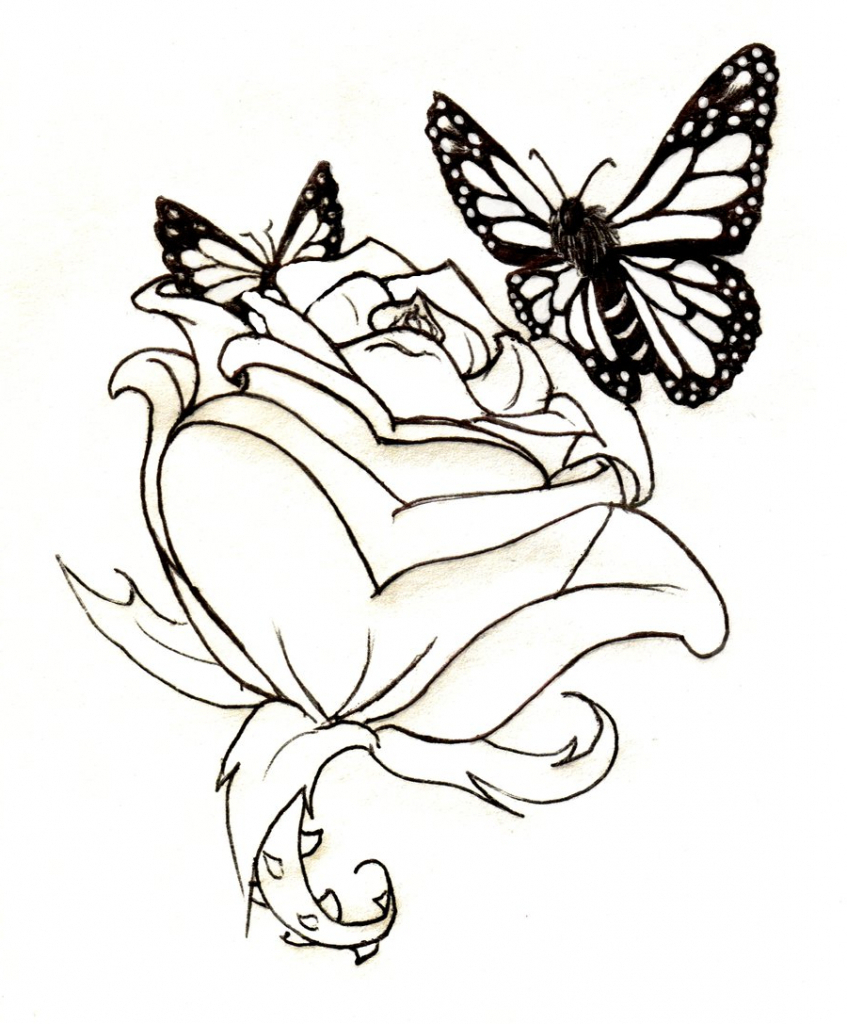 847x1024 Butterfly Drawing Tattoo 1000 Images About Tattoo Ideas