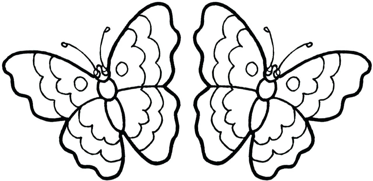 Butterfly Drawing To Print At Getdrawings Com Free For Personal