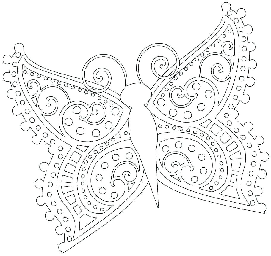 Butterfly Girl Drawing At Getdrawings Com Free For