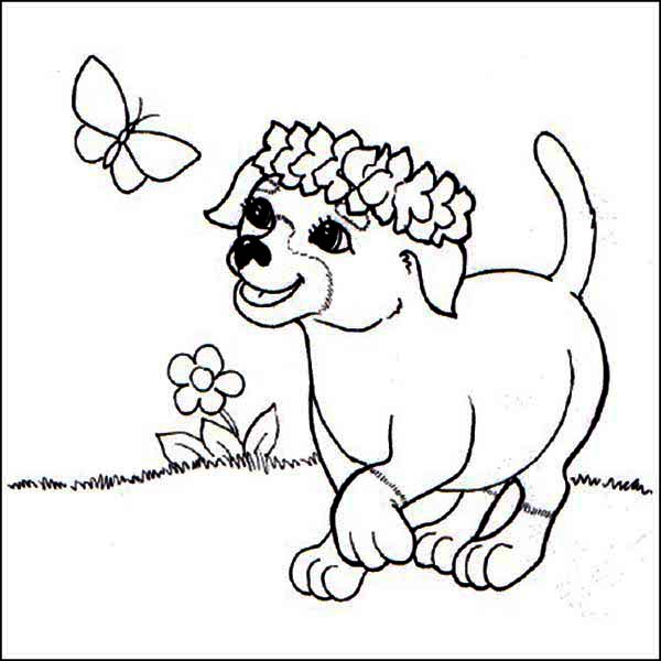 600x600 Flowers And Butterflies Coloring Pictures Flower Butterfly