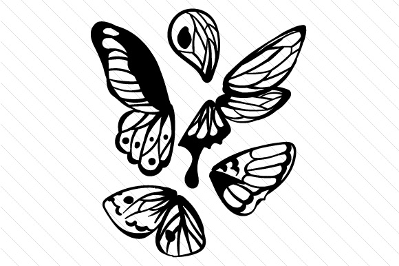 580x386 Butterfly Wings Svg Cut File By Creative Fabrica Crafts
