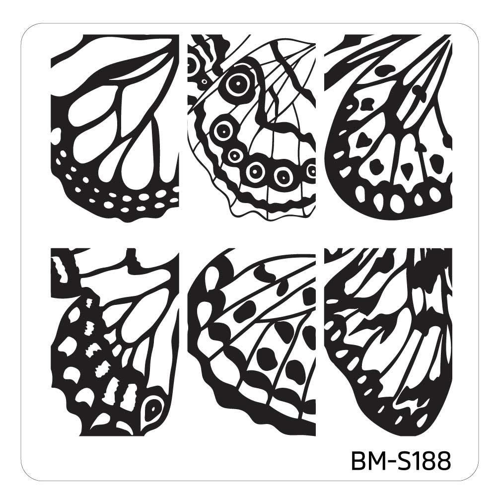 1001x1001 Mystic Woods Nail Stamp Plate
