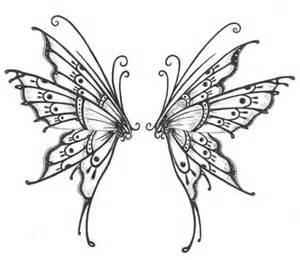 300x260 Butterfly Wings Drawings