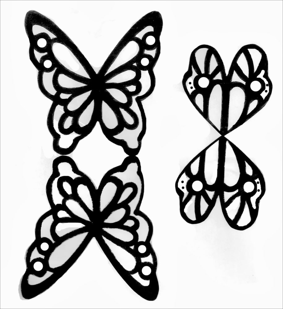 915x999 Butterfly Garden Fairies Peg People Tutorial {With Free Wing