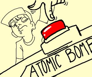300x250 Kid Pushing A Atomic Bomb Button