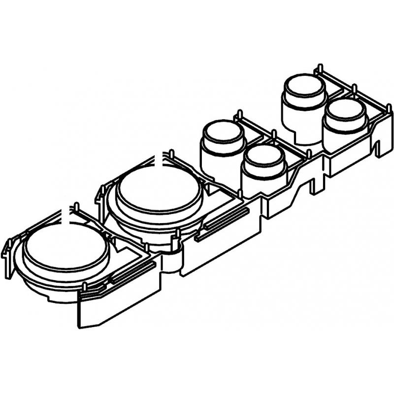 800x800 Pioneer Cdj 1000 Mk1 Mk2 Mk3 Play Cue Buttons Bank Dxb2067 Dxb1909