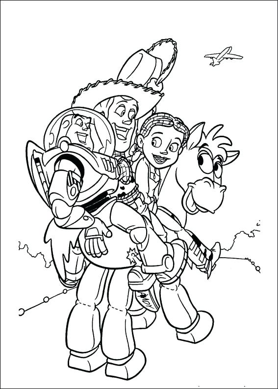 567x794 Toy Story Coloring Books Plus Toy Story Toy Story Coloring Page