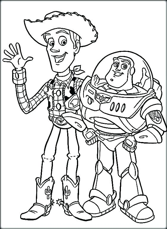 Buzz And Woody Drawing at GetDrawingscom Free for personal use