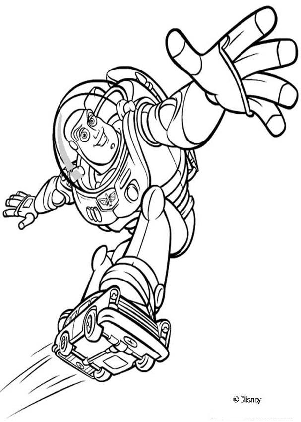 607x850 Toy Story 2 Coloring Pages