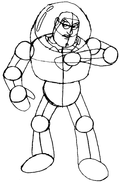 Buzz Lightyear Drawing at GetDrawings.com | Free for personal use ...
