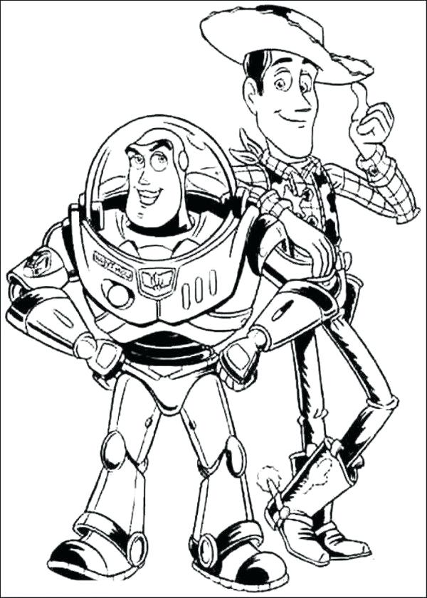 600x841 Buzz Lightyear Coloring Page Toy Story Buzz Spell And Potato Head