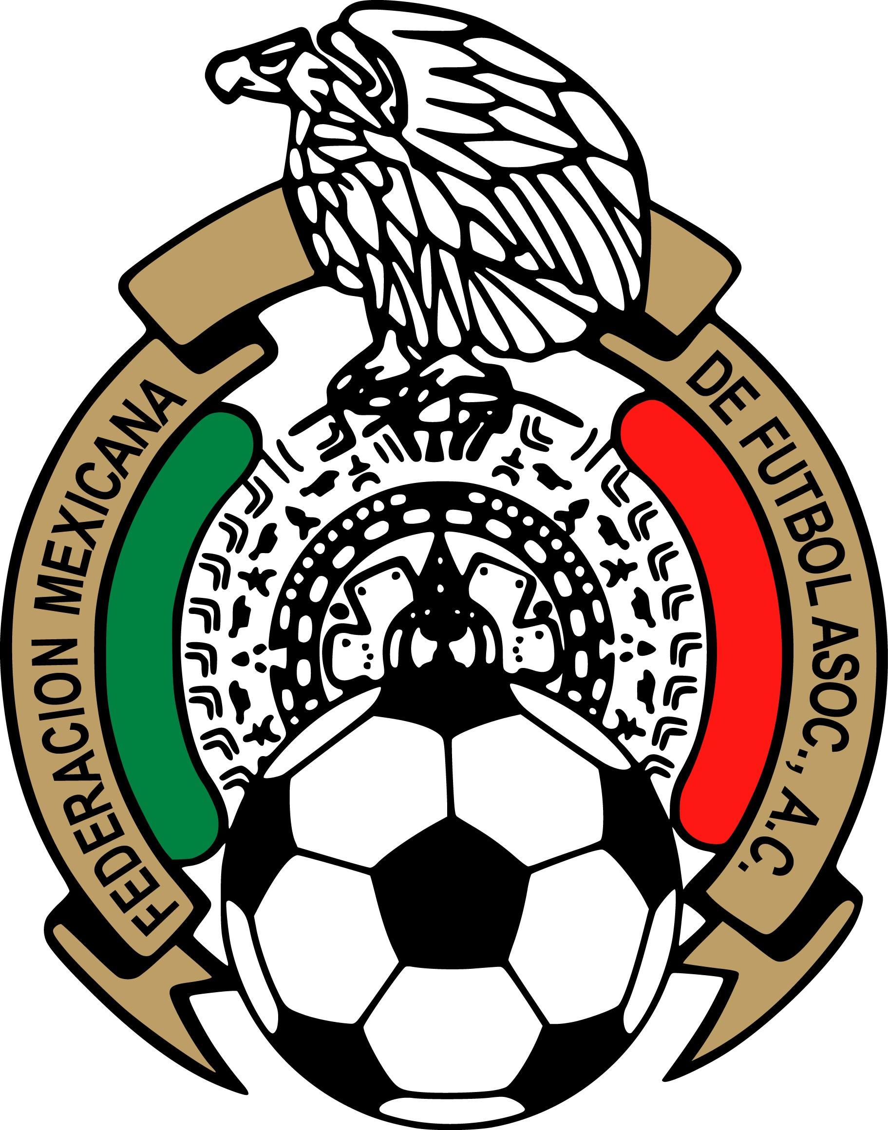 1823x2321 Mexican Football Federation Amp Mexico National Football Team Logo