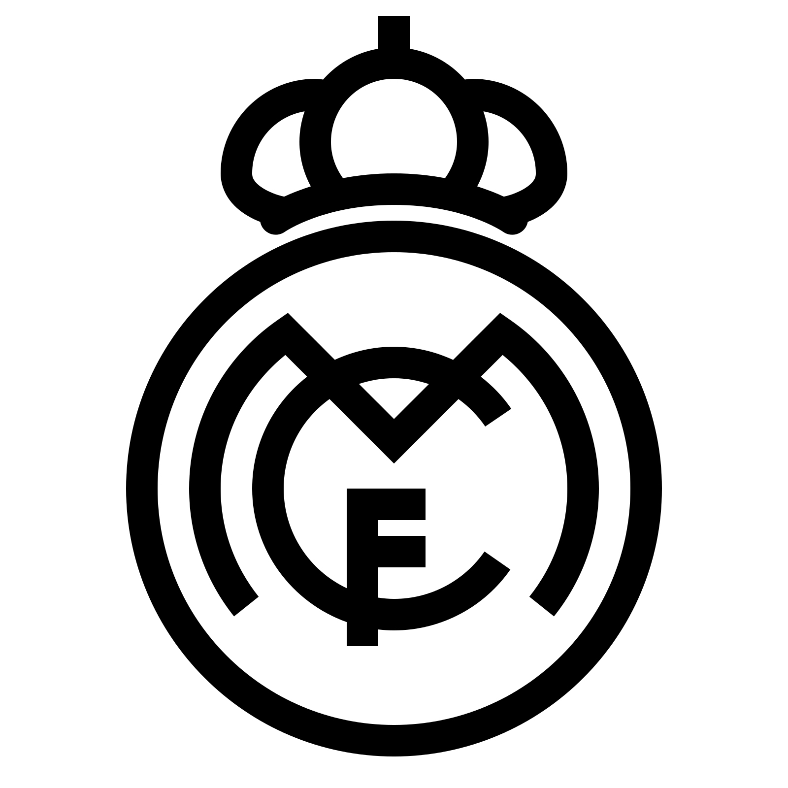 1600x1600 Real Madrid Logo, Real Madrid Symbol, Meaning, History And Evolution