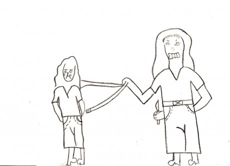 460x333 Children's Drawings Reveal Violence