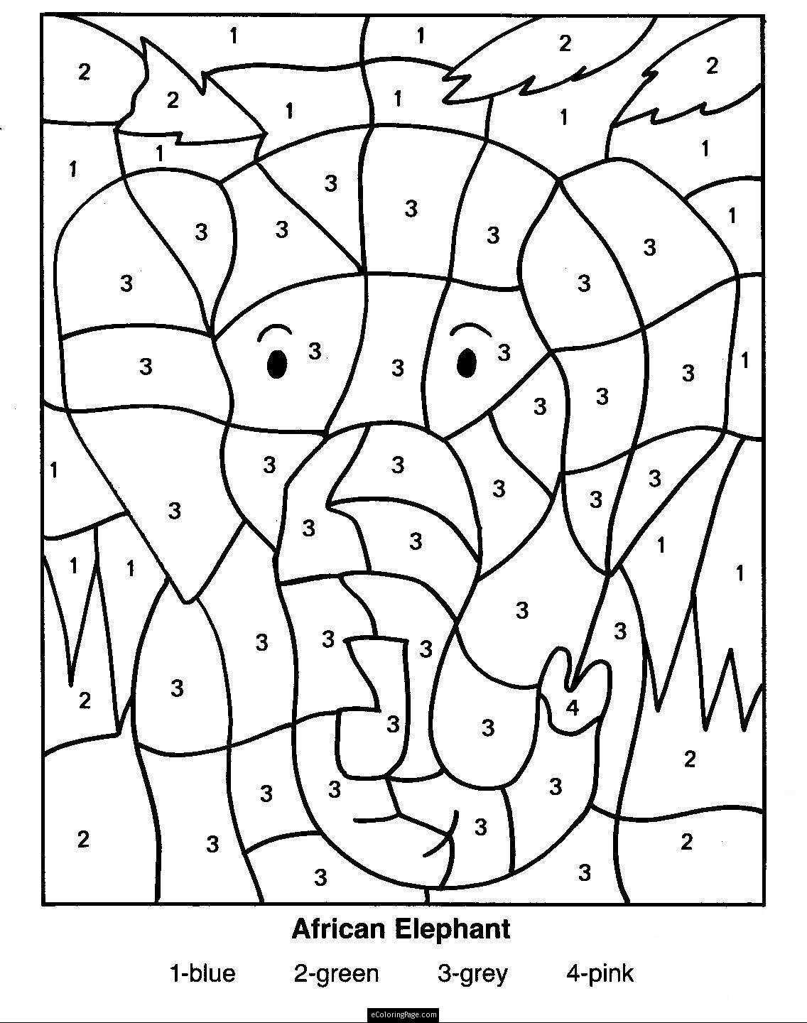 1136x1440 Color By Number Pages For Kids Coloring